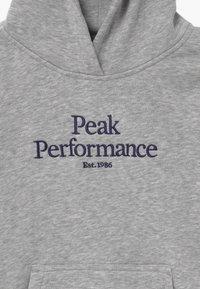 Peak Performance - ORIGINAL HOOD - Mikina skapucí - med grey melange - 3