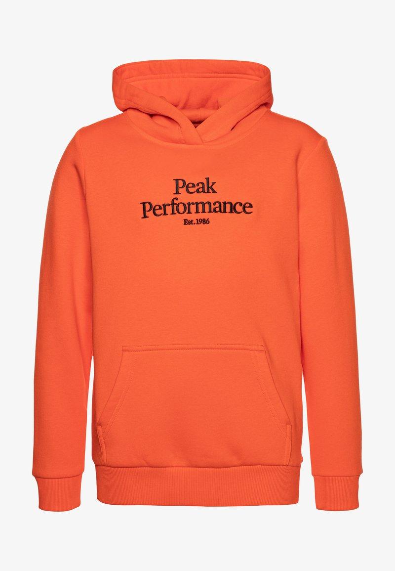 Peak Performance - ORIGINAL HOOD - Luvtröja - aglow