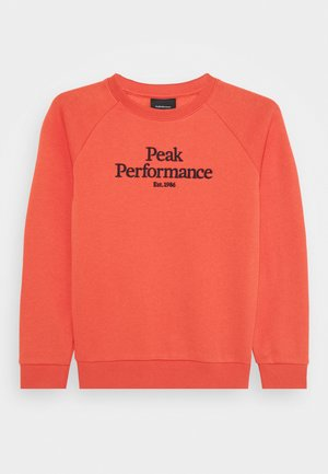 Sweatshirt - clay red