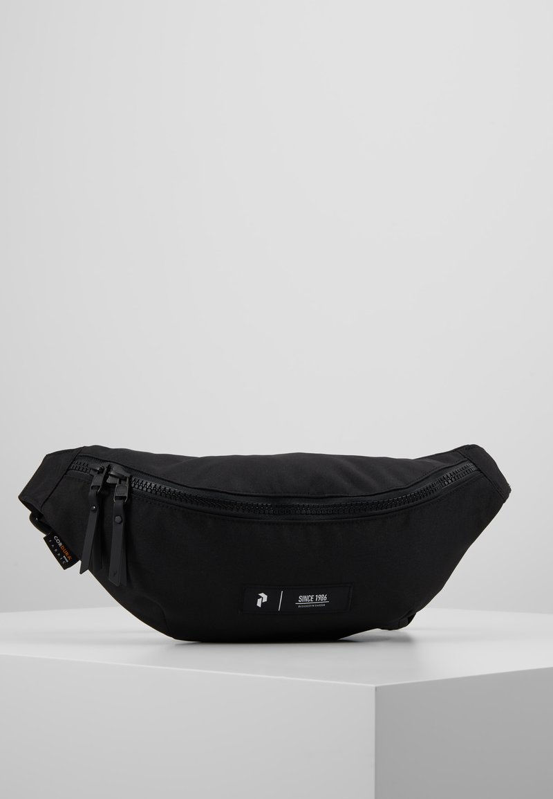 Peak Performance - SLING BAG - Ledvinka - black