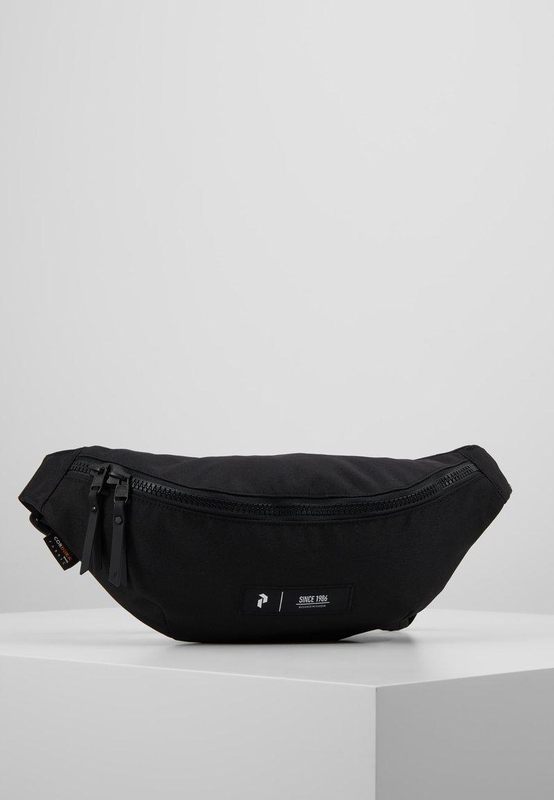 Peak Performance - SLING BAG - Bæltetasker - black