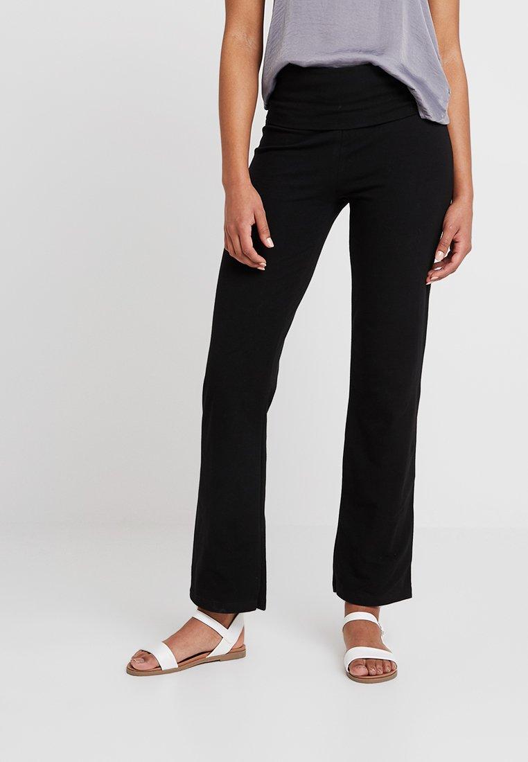 Petit Bateau - PANTALON MAILLE - Trousers - noir