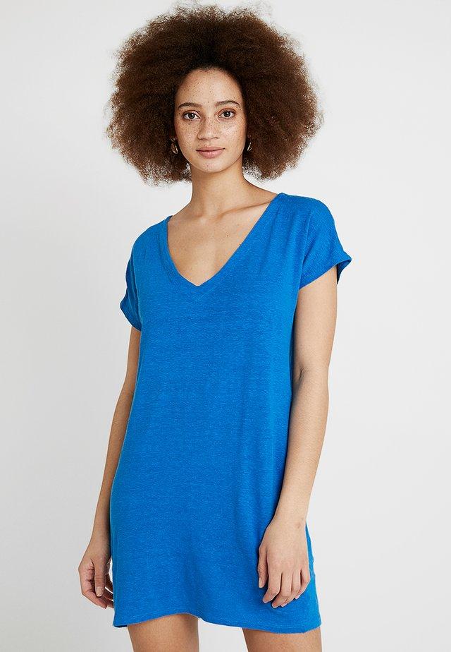 ROBE - Jersey dress - blue