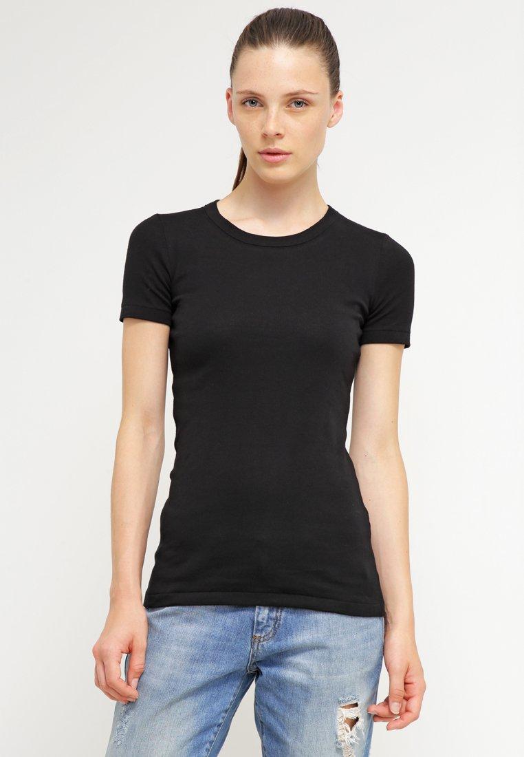 Petit Bateau - T-shirts - noir