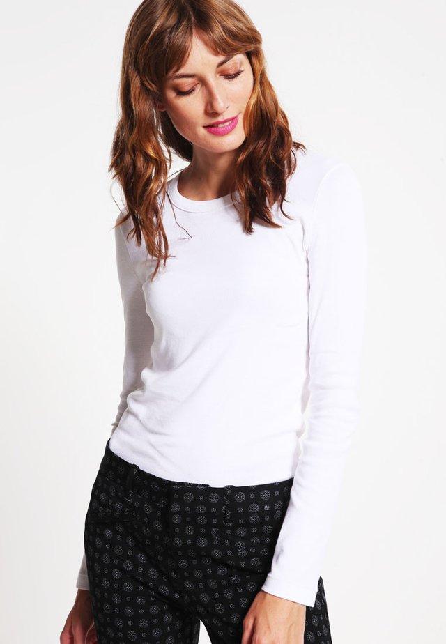 Long sleeved top - ecume