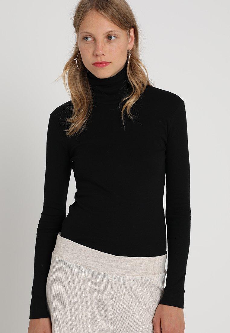 Petit Bateau - SOUS - Long sleeved top - noir