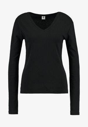 TEE - T-shirt à manches longues - noir