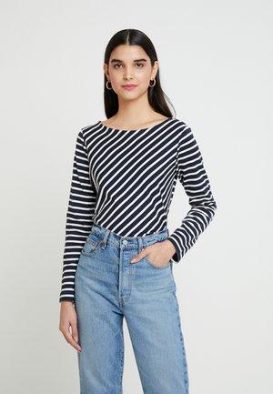 CLAIROU - T-shirt à manches longues - smoking/coquille