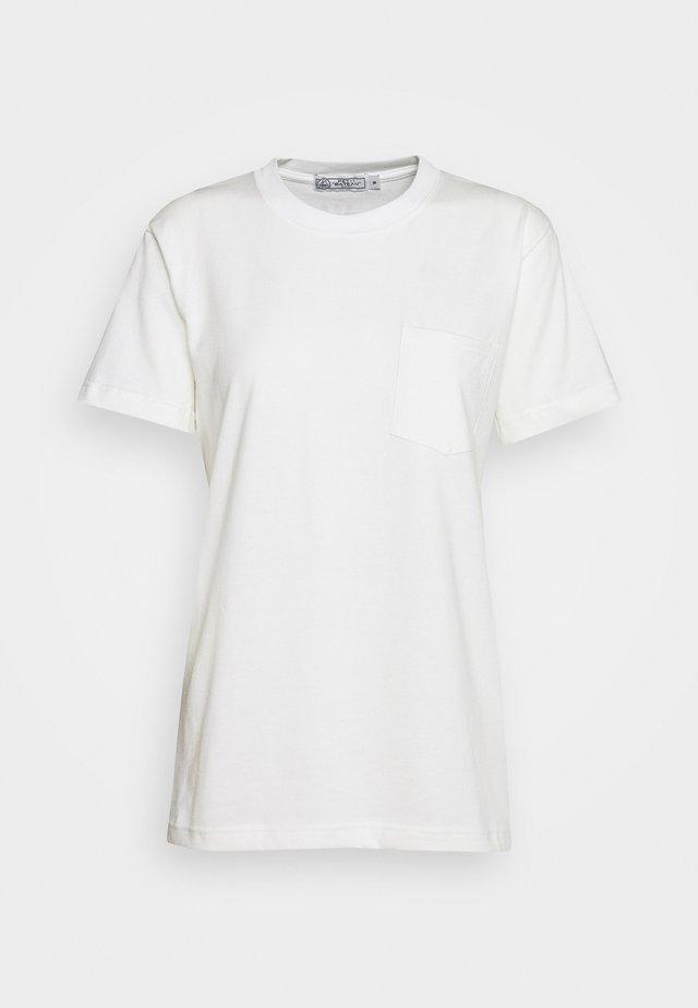 TEE MCPEPS - T-Shirt basic - marshmallow