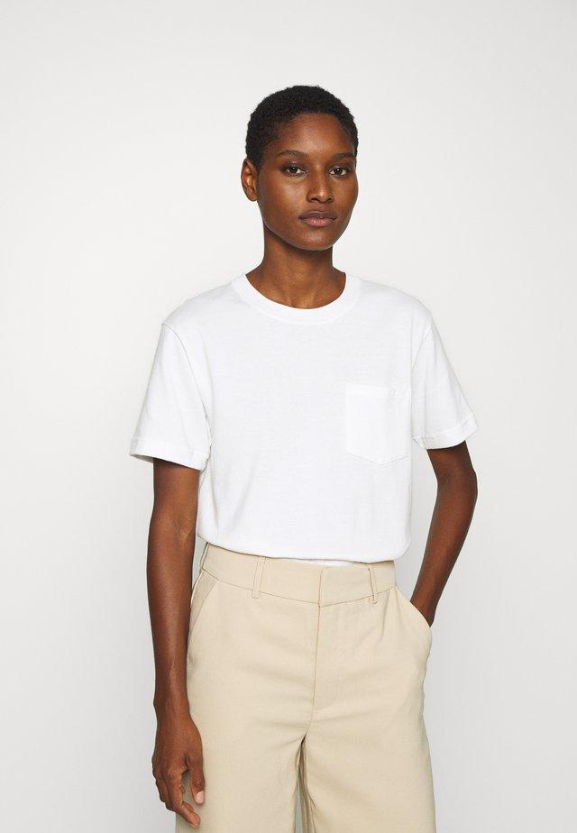 T-shirt basique - marshmallow