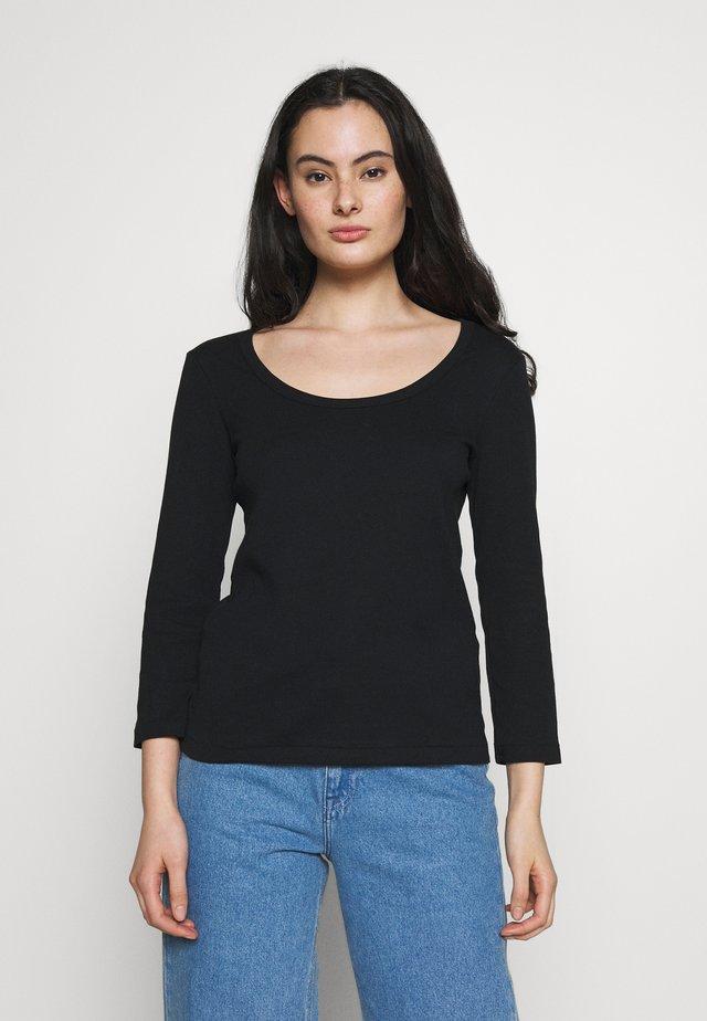 TEE - Pitkähihainen paita - noir