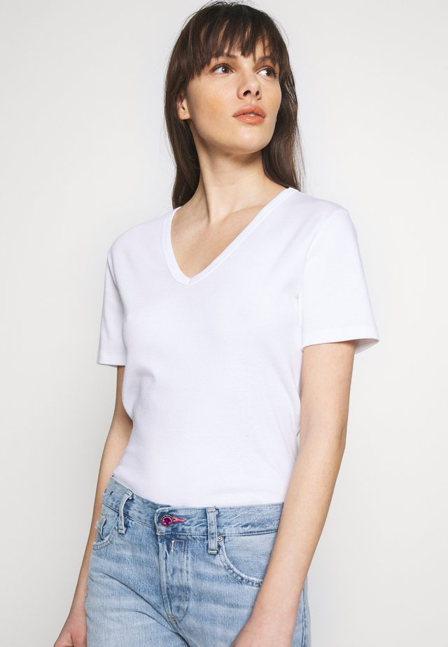 TEE - T-shirt - bas - ecume