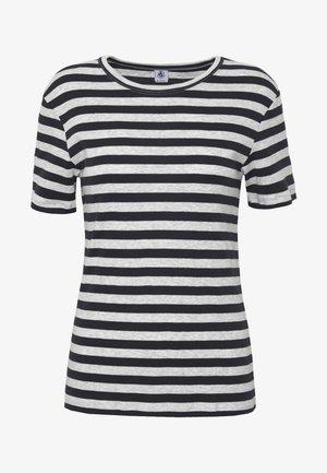 TEE SHIRT  - Camiseta estampada - smoking/beluga