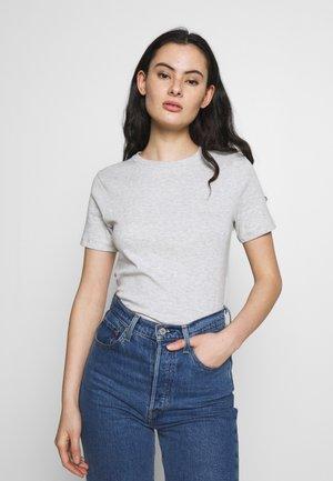 TEE - T-shirts - beluga chine