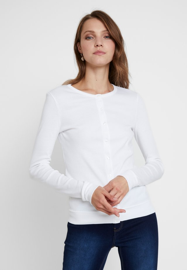 CARDIGAN - Pitkähihainen paita - ecume