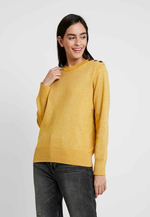 COLBY - Neule - mustard yellow
