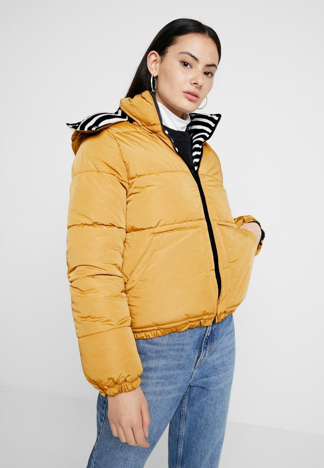 COUDOUNE - Winter jacket - coquille/smoking/multico