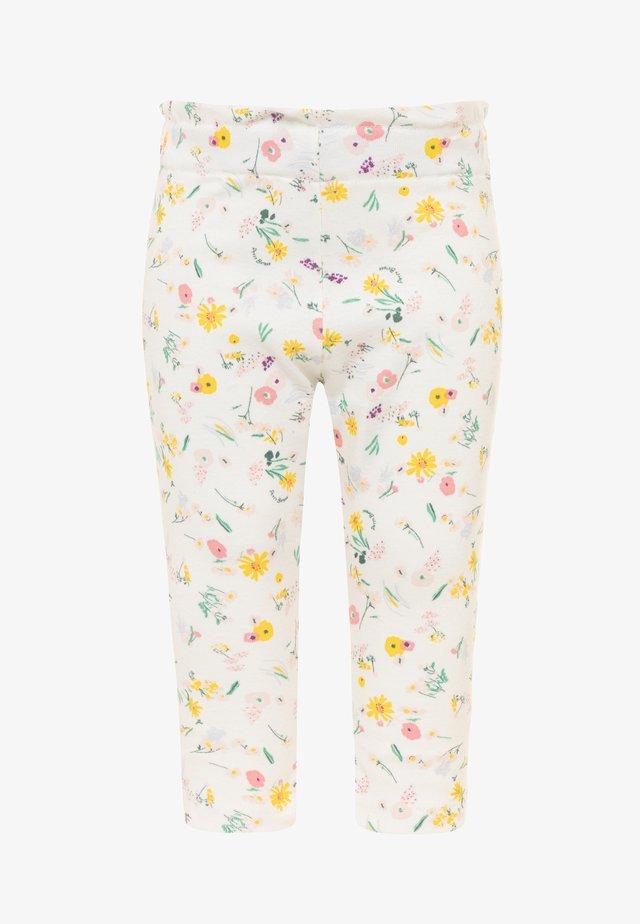 Pantalon classique - marshmallow/multicolor