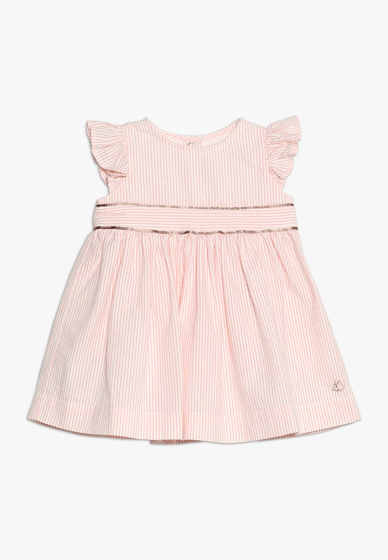 Petit Bateau - BANQUE ROBES VET BABY - Day dress - marshmallow/rosako