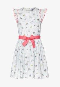 Petit Bateau - FLANER DRESS - Day dress - marshamallow/multicolor - 0
