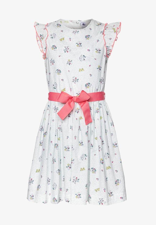 FLANER DRESS - Freizeitkleid - marshamallow/multicolor