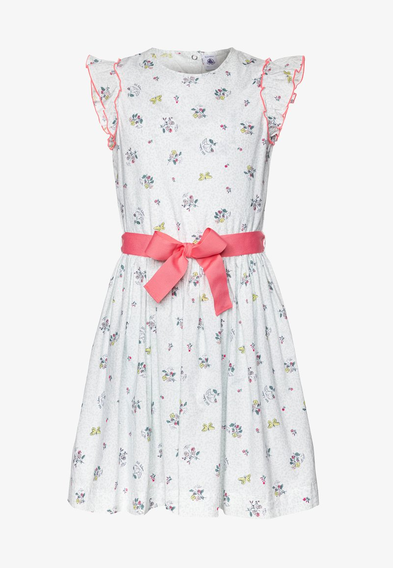 Petit Bateau - FLANER DRESS - Day dress - marshamallow/multicolor