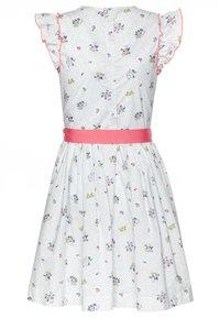 Petit Bateau - FLANER DRESS - Day dress - marshamallow/multicolor - 1