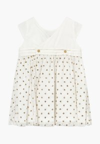 Petit Bateau - ROBE  - Cocktail dress / Party dress - marshmallow/or - 0