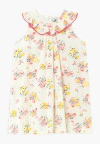 Petit Bateau - ROBE BLOOMER - Korte jurk - white - 0