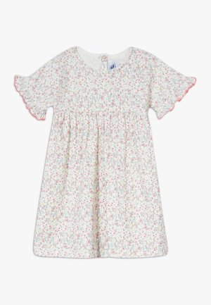 ROBE  - Jersey dress - marshmallow/multicolour