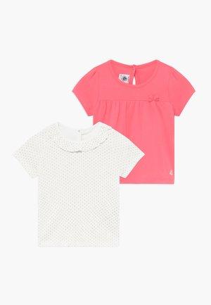 TEE 2 PACK   - Print T-shirt - cupcake/marshmallow