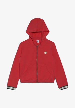 COQUILLAGE - Zip-up hoodie - signal