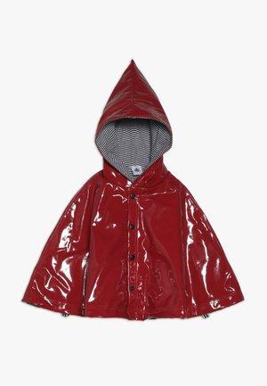 DE PLUIE BABY - Poncho - dark red