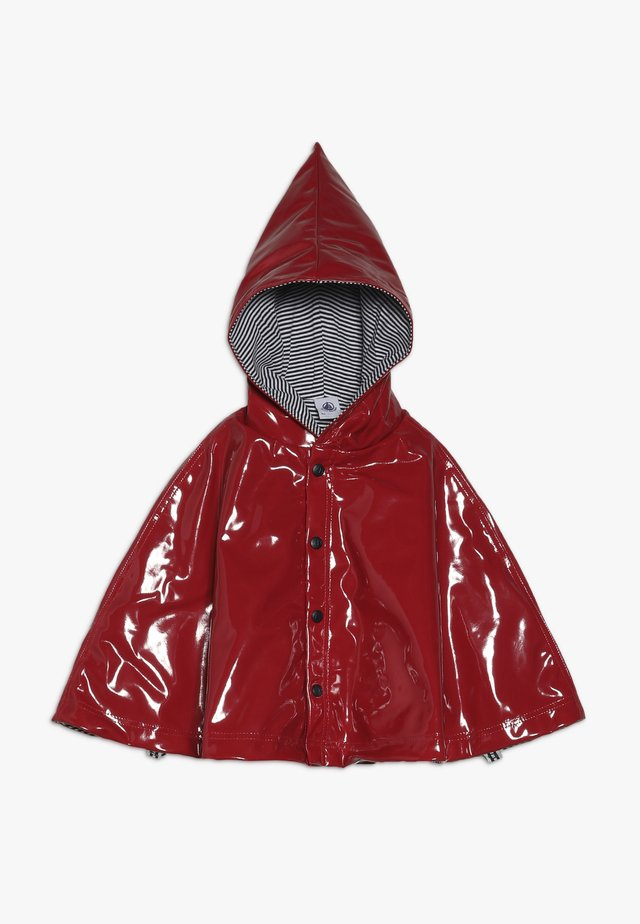 DE PLUIE BABY - Cape - dark red