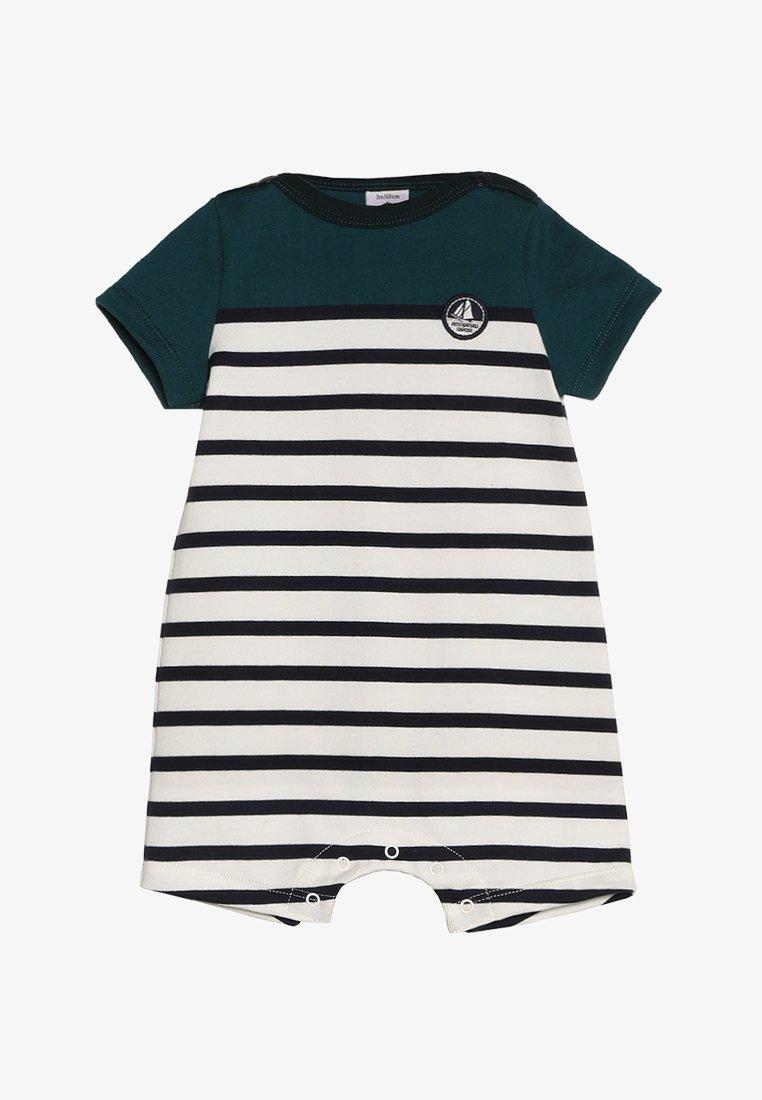 barino combinaison courte baby - jumpsuit - pinede/marshmallow/smoking