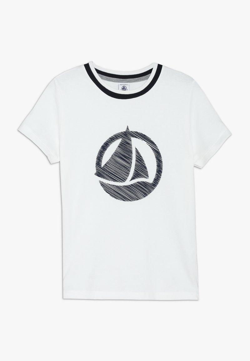 Petit Bateau - CAFINI - T-shirt imprimé - marshmallow