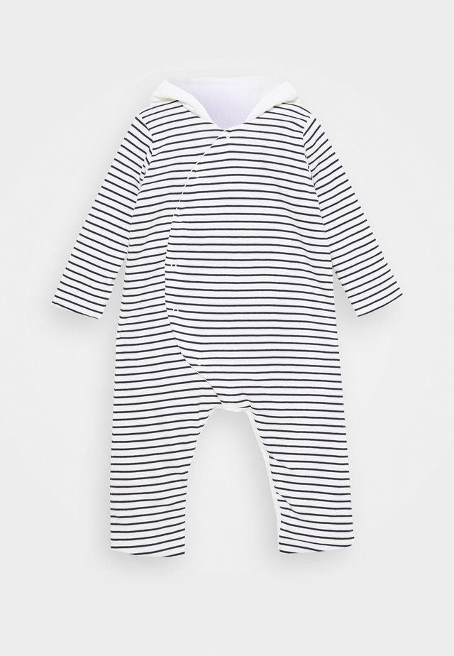 COMBINAISON LONGUE - Overall / Jumpsuit - marshmallow/smoking