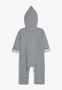 Petit Bateau - COMBINAISON BABY - Overall / Jumpsuit - marshmallow/smoking - 1