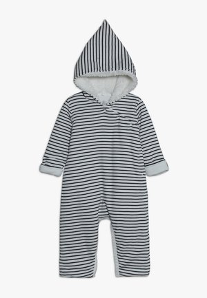 COMBINAISON BABY - Tuta jumpsuit - marshmallow/smoking