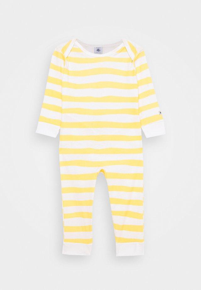 BABY DORS BIEN SANS PIEDSBLE UNISEX - Sleep suit - marshmallow