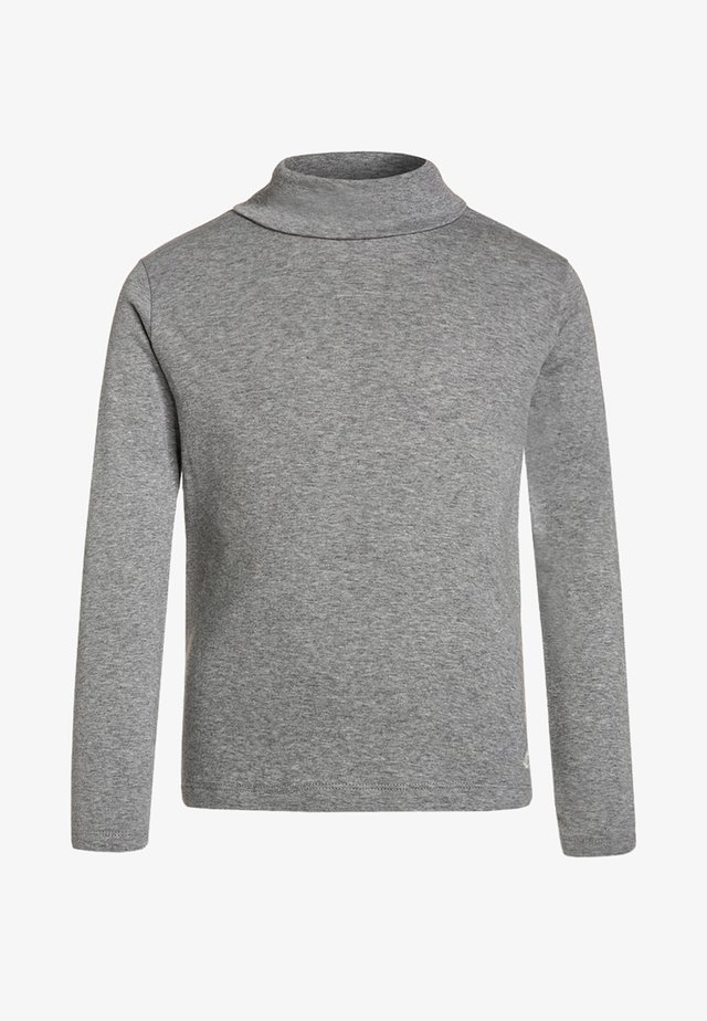 Topper langermet - grey