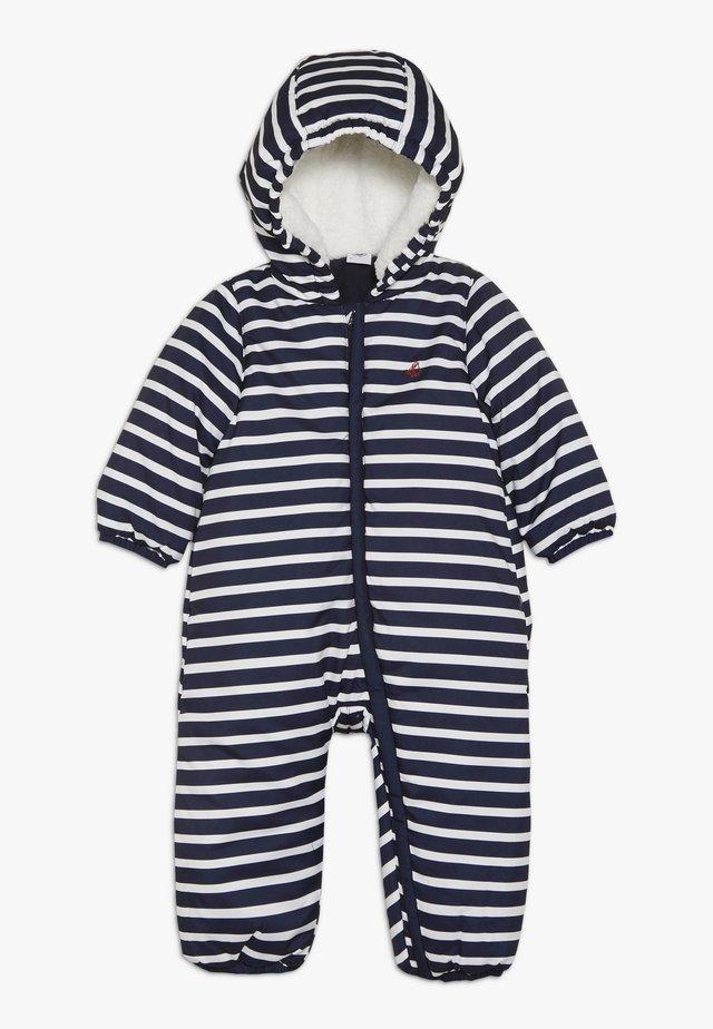 COMBIPILOTE BABY - Snowsuit - dark blue/marshmallow