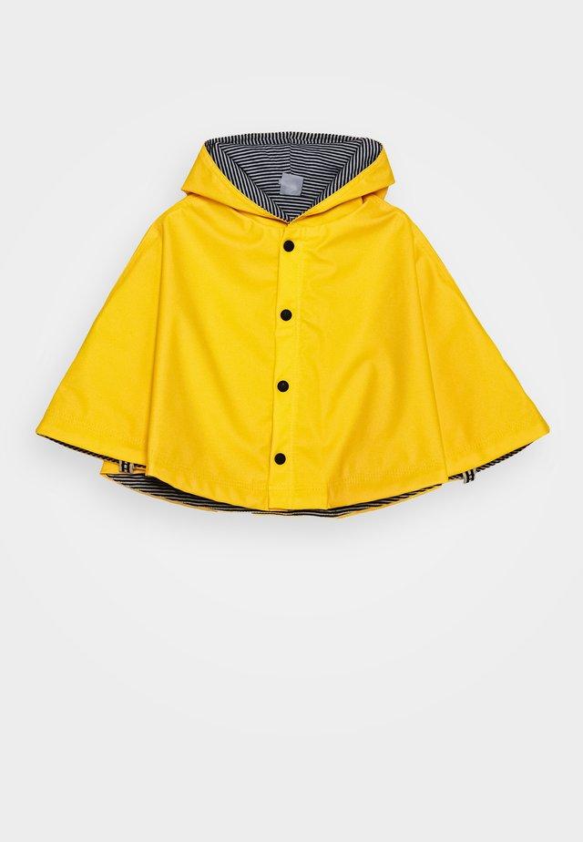 CAPE DE PLUIE UNISEX - Waterproof jacket - jaune