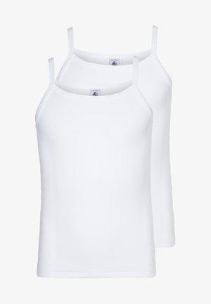 2 PACK - Undershirt - weiß