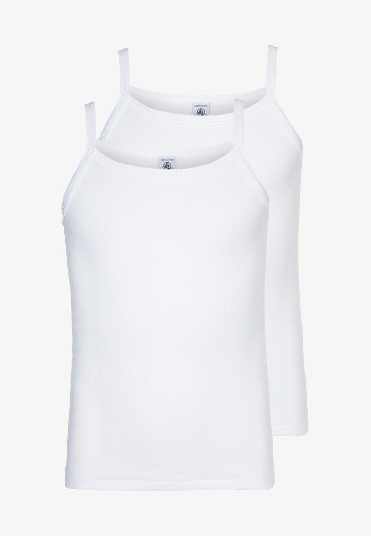 Petit Bateau - 2 PACK - Undershirt - weiß