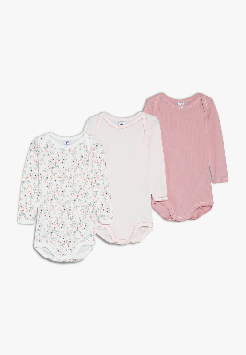 Petit Bateau - BABY 3 PACK - Body - pink