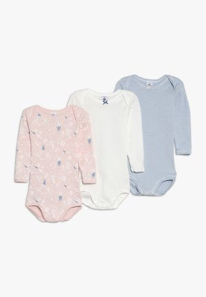 3 PACK - Body - pink/off-white