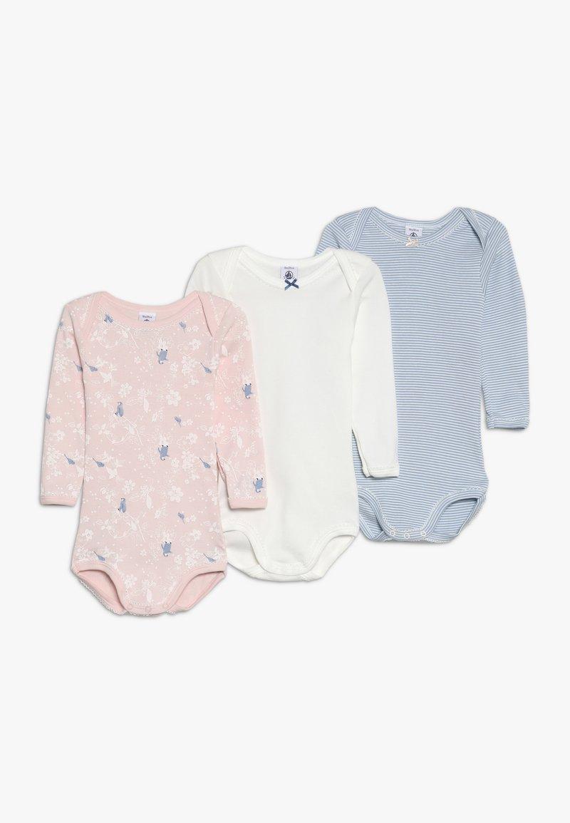 Petit Bateau - 3 PACK - Body - pink/off-white