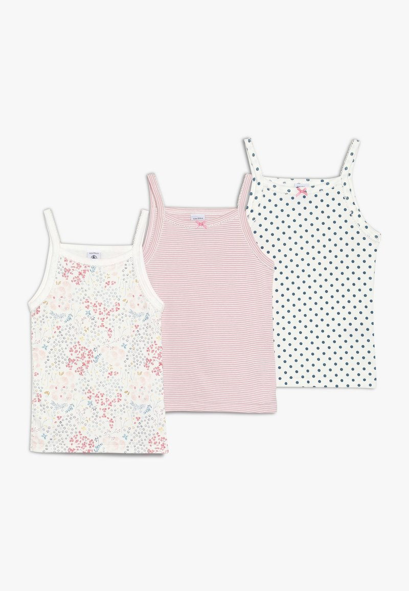 Petit Bateau - 3 PACK - Unterhemd/-shirt - white