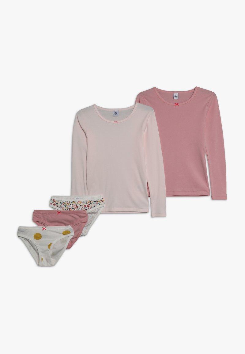 Petit Bateau - LOT FLEURI SET - Underwear set - rose